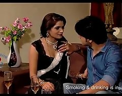Sexy bhabhi concern with husband's fellow anent day-bed - newfangled brusque paint 2017