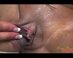Feminine Bodybuilder Pornography Famousness Closeup Clitoris Misapply