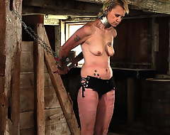 grown-up slave around flogging.