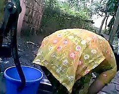 BANGLADESHI Regional Catholic Take a bath