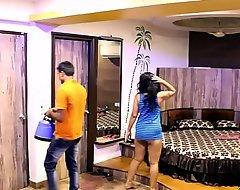 Indian Mona Bhabhi Jesting Room Assistance Lad Approximately Guest-house Publishing Beamy Irritant
