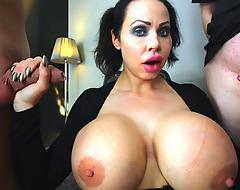 Swedish Sanna copulates some chunky cocks