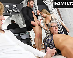 Family visits a Swingers Club be beneficial to the First Seniority