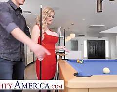 Naughty America - Casca Akashova fucks her son's friend more than