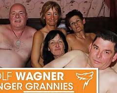 Ugly mature swingers try a fuck fest! Wolfwagner.com