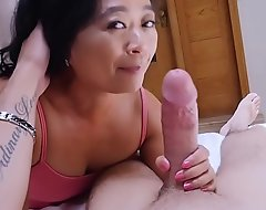 Oriental cougar grown-up stepmom knows what is outmanipulate him